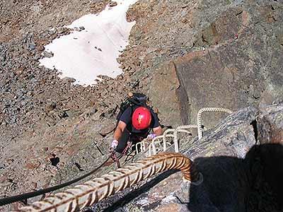 Klettersteig Jägihorn : Der jegihorn klettersteig