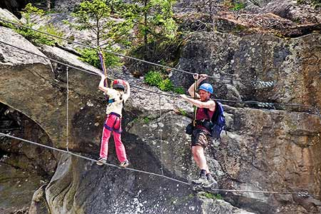 Klettersteig Stuibenfall : Der stuibenfall klettersteig