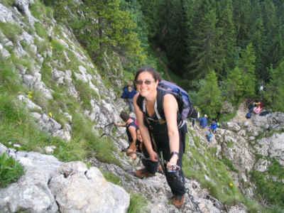 Klettersteig Am Ettaler Mandl : Ettaler manndl