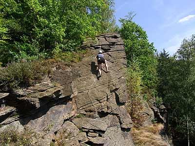 Klettersteig Wolkenstein : Der artist klettersteig