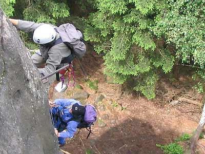 Klettersteig Zittauer Gebirge : Klettersteige in sachsen der alpine grat