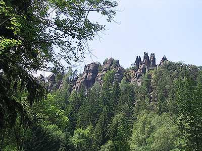 Klettersteig Jonsdorf : Klettersteige im zittauer gebirge der nonnensteig