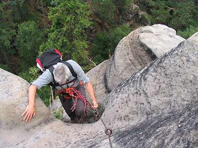 Klettersteig Zittauer Gebirge : Klettersteige im zittauer gebirge der nonnensteig